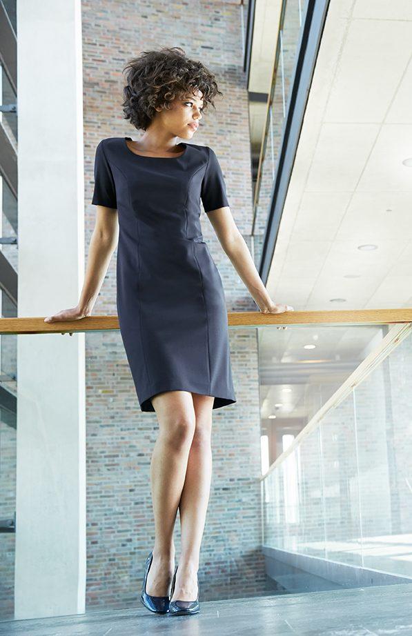 Premium Damen Etuikleid Regular Fit