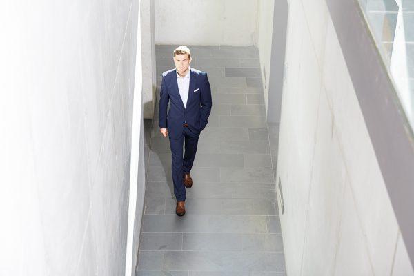 Premium Herren Blazer Slim Fit