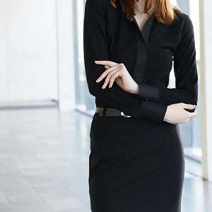 Premium Damen Stiftrock Regular Fit